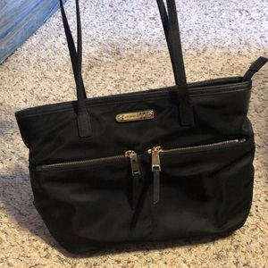 Michael Kors Black Nylon Tote